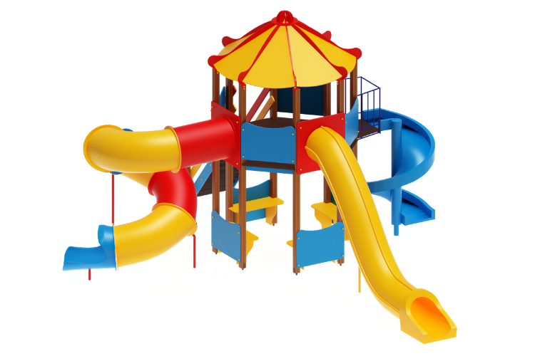 ДИК 35-001 Детский игровой комплекс Шапито, H=2000 Image