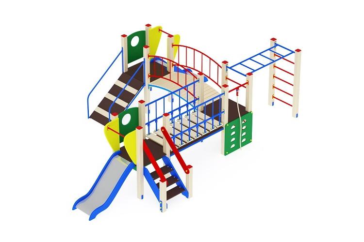 ДИК 01-007 Детский игровой комплекс «Карапуз» H=750 Image