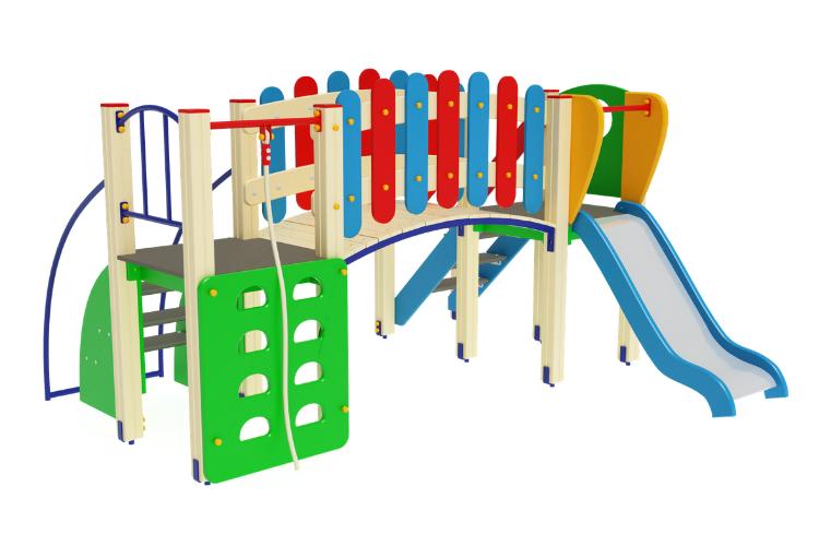ДИК 01-001 Детский игровой комплекс «Карапуз» H=900 Image