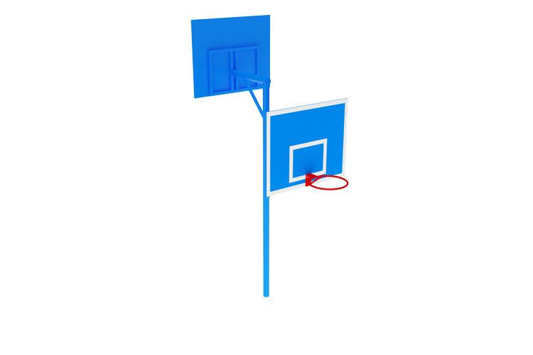 СО 07-703 Стойка баскетбольная комбинированная Image