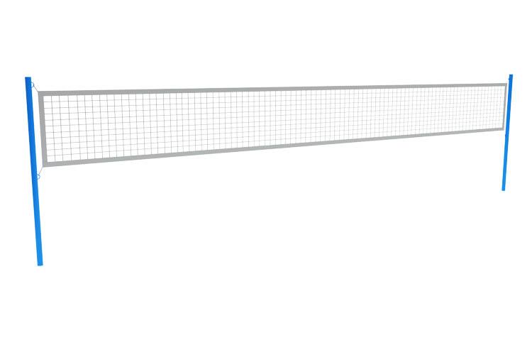 СО 07-708 Комплект волейбольных стоек (без сетки) Image