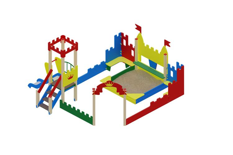 ИО 07-541 Песочный дворик Королевство Image