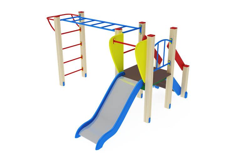 ДИК 01-002 Детский игровой комплекс «Карапуз» H=750 Image
