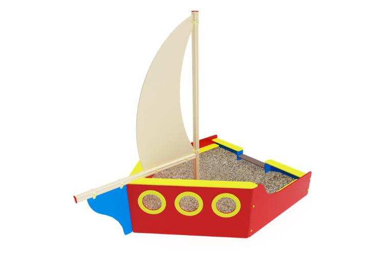 ИО 07-506 Песочница Яхта Image
