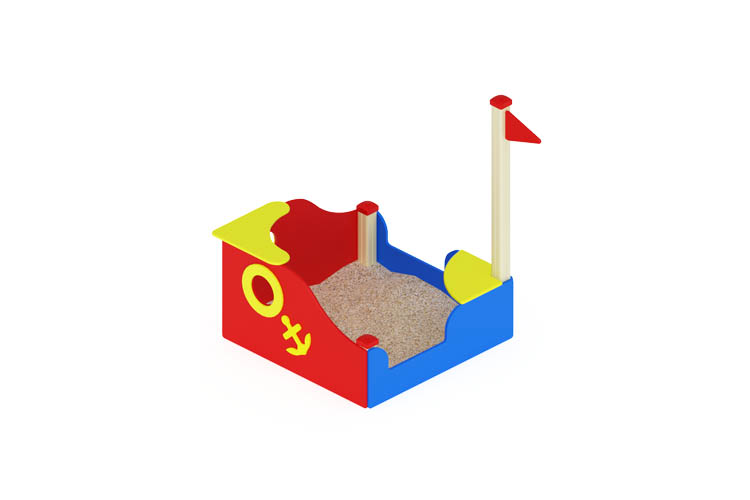 ИО 07-517 Песочница Кораблик мини Image
